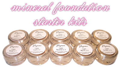 J.Lynne Mineral Foundation Starter Kits