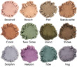 Coastline Collection Plush Velvet Eyeshadow